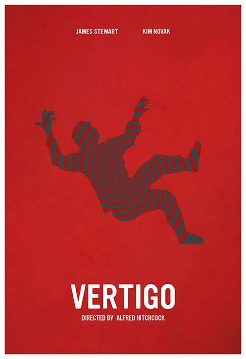 Póster alternativo de 'Vértigo'